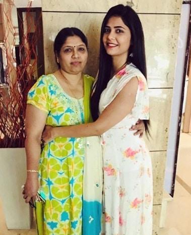 Veena Jagtap Family