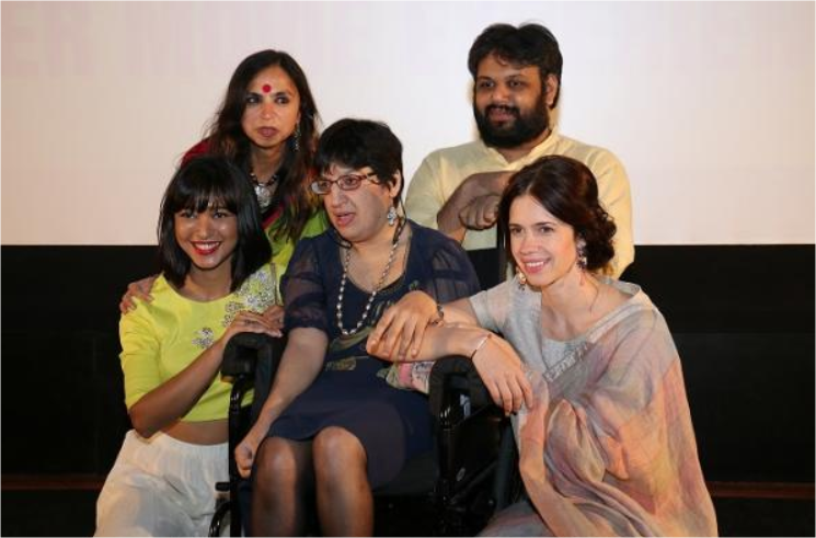 Kalki Koechlin Family